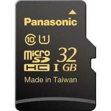 Panasonic Micro SDHC UHS-I Memory Card RP-SMHA32GJK 32GB Japan Domestic Version