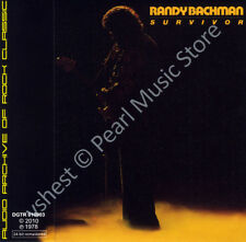 RANDY BACHMAN SURVIVOR CD MINI LP OBI The Guess Who Bachman Turner Overdrive BTO