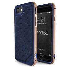"""X-Doria Defence Lux Aluminium Case for iPhone 7 (4.7"""" Screen) Blue Gold"""