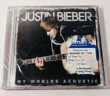 My Worlds Acoustic Justin Bieber Cd