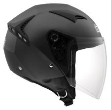 Casco Jet Helmet  AGV  Moto Scooter Vespa Nero Opaco MDS G240 By Agv