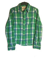 Hollister Mens Plaid Cotton Long Sleeve Shirt S (C517)