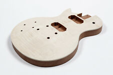 Cuerpo guitarra Les Paul caoba zurdo- Lefty Mahogany flamed maple LP guitar body