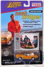 JOHNNY LIGHTNING HOLLYWOOD ON WHEELS NASH BRIDGES 1971 HEMI CUDA #92