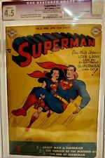 Superman #57 CGC 4.5