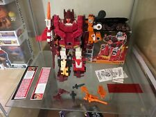 Transformers g1 - Computron Technobots Near Complete With Box