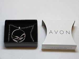 Ladies Womens Avon Organic Style Embellished Pendant Necklace  F3784611 NIP;;