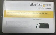 STARTECH 3-Port Multi Monitor Mini DisplayPort MST Hub MSTMDP123DP