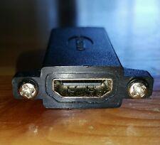 New HDMI Panel-Mount Coupler Femal to Female (DataPro)