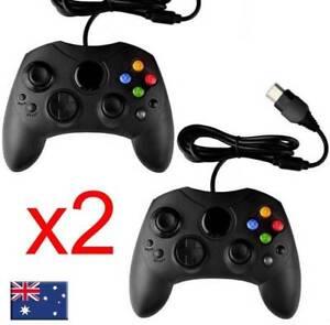 2x Premium DualShock Joypad Game Controller Gamepad For Microsoft Original XBOX