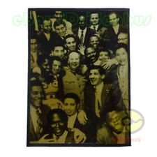 "Matted 8""x6"" old photograph Chairman MAO and the people of Asia, Africa 1959s"