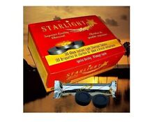 STARLIGHT 33MM Premium Hookah Incense Round Charcoal Coals 10 Roll, 100 Disc