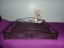 Princess House Meridian Square Tray  (#3207) NEW IN BOX