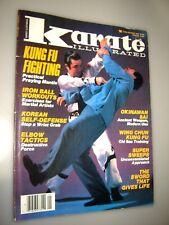 Karate Illustrated Magazine-January,1986-Pra ctical Praying Mantis