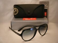 Ray Ban 4125 CATS 5000 Black w Clear Gradient Lens (RB4165 601/3F)