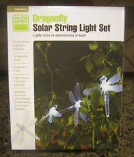 Yard/Patio - Dragonfly Solar LED String Lights - Clear Color/10 lgt/CLOSE OUT