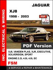 1998 - 2003 JAGUAR XJ XJ8 XJR ULTIMATE FACTORY SERVICE REPAIR WORKSHOP MANUAL