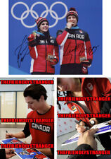 "TESSA VIRTUE & SCOTT MOIR signed ""2018 OLYMPICS"" 8X10 PHOTO A - PROOF - Gold COA"