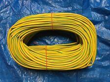 Green / Yellow PVC Earth Sleeving 3mm, 4mm, 6mm Various Lengths 1m3m5m10m25m50m