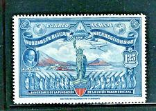 Vintage Statue of Liberty Airmail Stamp 1940 Nicaragua Scott # C253 Mint NH Comp