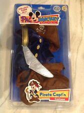 Disney Pal Mickey Interactive Costume ~Very Rare~ Pirate Capt'n Captain NIB