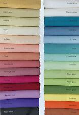 Polyester Cotton Wrinkle Resistant Tablecloth - colour range extraordinare!!
