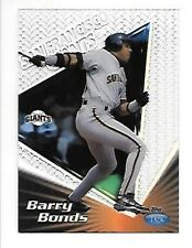 BARRY BONDS 1999 TOPPS TEK PATTERN 19B-P08 GIANTS FREE COMBINED S/H