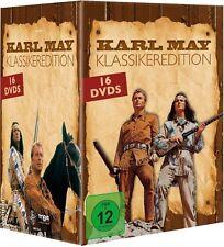 16 KARL MAY KLASSIKER (Pierre Brice, Lex Barker, Stewart Granger) 16 DVDs NEU