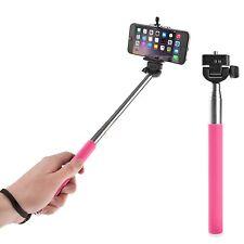 Rosa Extensible De Mano Selfie Stick monópode-Iphone 4s 5s 6 6 Plus de Samsung S6