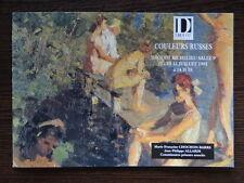 Catalogue Vente Art Peinture Russe XXe siecle Russian Painting 20th Century 1991