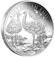 1 $ Dollar Silver Proof Australian Emu Australien 1 oz Silber PP 2019