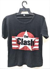 VINTAGE 70's THE CLASH PUNK ROCK TOUR CONCERT PROMO T-SHIRT DAMNED SEX PISTOLS