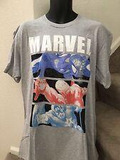C-Life Men's Marvel Comic Graphic Printed T-Shirt Grey 2XL XXLarge