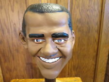President Obama Vinyl Costume Mask Adult Size by Disguise