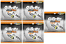 Gillette Atra Plus Refill Razor Blade Cartridges, 50 Count (Unboxed)