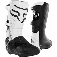 FOX Comp Boots White Motocross Mx Off Road Boot Sale
