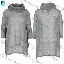 Cowl Neck Short Sleeve Long Jumpers & Cardigans for Women