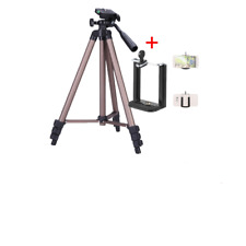 Portable Camera Tripod Stand with Rocker Arm For Canon Nikon Sony Cam For Phone