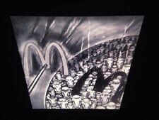 "Sue Coe ""McWorld"" British Modern Art 35mm Slide"