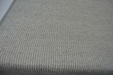 grey white fleck textured chenille upholstery fabric robust thick