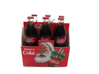 Coca-Cola Kurt Adler 6-Pack Carton Share a Coke Holiday Christmas Ornament Santa