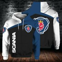 Newest Spring SCANIA 3D Hoodie Sporty Sweatshirt Cosplay Costume Tops