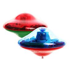 Laser Color Flash LED Light Music Gyro Peg-Top Spinner Spinning Kids Toy W6G4
