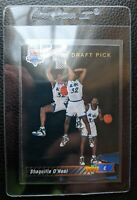 1992 93 UPPER DECK #1 SHAQUILLE O'NEAL ROOKIE CARD RC ORLANDO MAGIC HOF