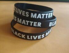 5x Black Lives Matter BLM Silicone Wrist Band Bracelet Wristbands