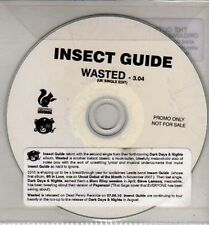 (CJ115) Insect Guide, Wasted - 2010 DJ CD