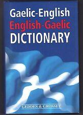 GAELIC-ENGLISH ENGLISH-GAELIC DICTIONARY  BY MICHAEL BAUER