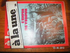 /!! A la Une Grands Evenements 20e Siecle n°36 L'Enfer de Verdun