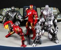 Kaiyodo Capsule Q Figure IRON MAN Mark Monger FULL Set 5 Japan Marvel A600