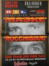 GRACIANO ROCCHIGIANI - HENRY MASKE  1995 - orig. Box Poster - Plakat  A1  NEU